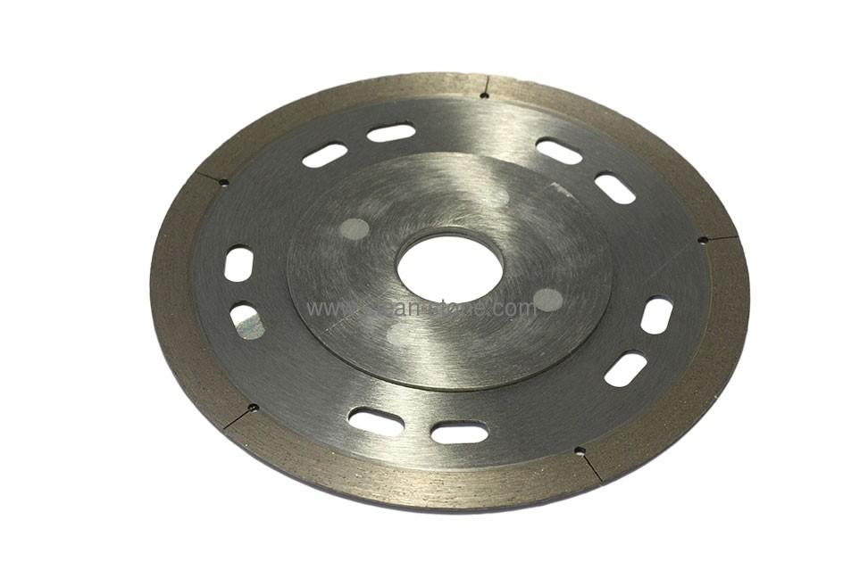 Круг алмазный отрезной 1A1R 125x1.1/0.8x8x22.23 Esthete - 1