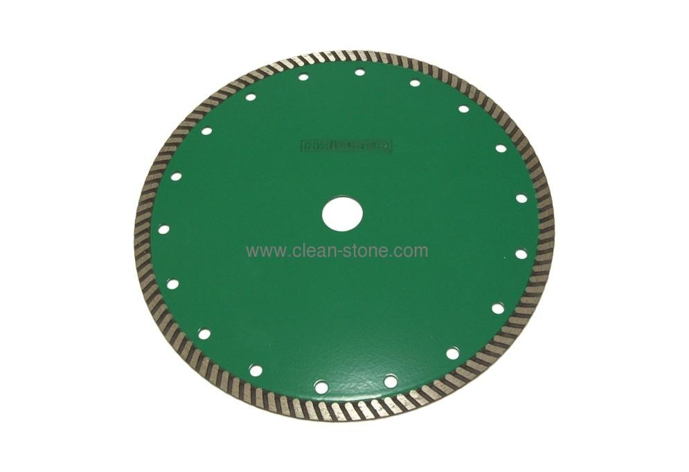 Круг алмазный отрезной Turbo 230*2.6*9*22.225 Haisser G6 Гранит - 1