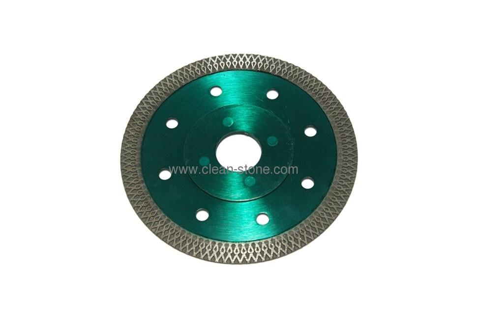 Алмазный отрезной круг по керамике и керамограниту d 115мм, чистый рез - 1