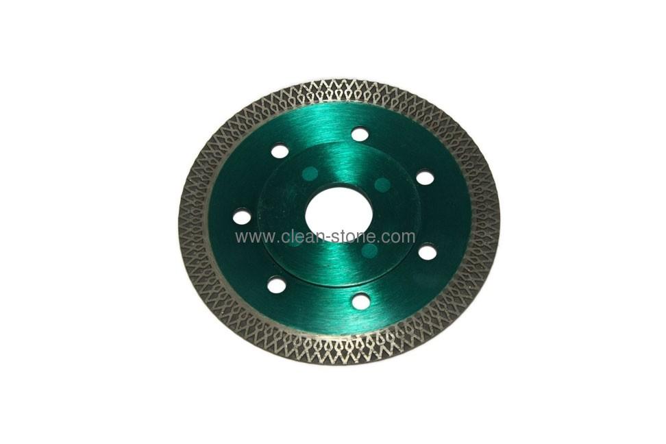 Алмазный отрезной круг по керамике и керамограниту d 105мм, чистый рез - 1