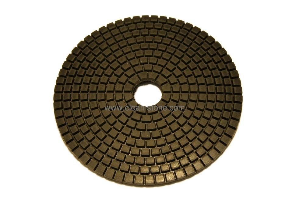 Алмазный гибкий шлифовальный круг d 125мм BUFF черный - 1