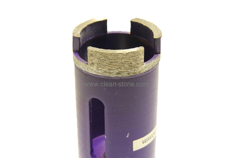 Алмазное сверло по граниту/керамограниту d 40 мм, М14 + хвостовик SDS - 2