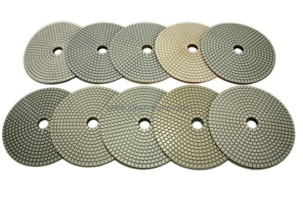 Алмазный гибкий шлифовальный круг d 150мм, класс А №30-3000 - 1