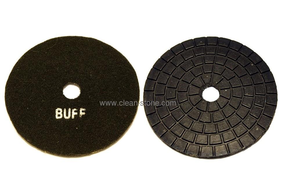 Алмазный полировальный круг d 125 мм BUFF для темных пород камня - 2