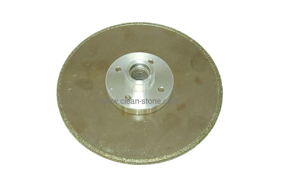 Диск d 125 мм, М 14 гальваническое алмазное покрытие, односторонний (кружок) - 1