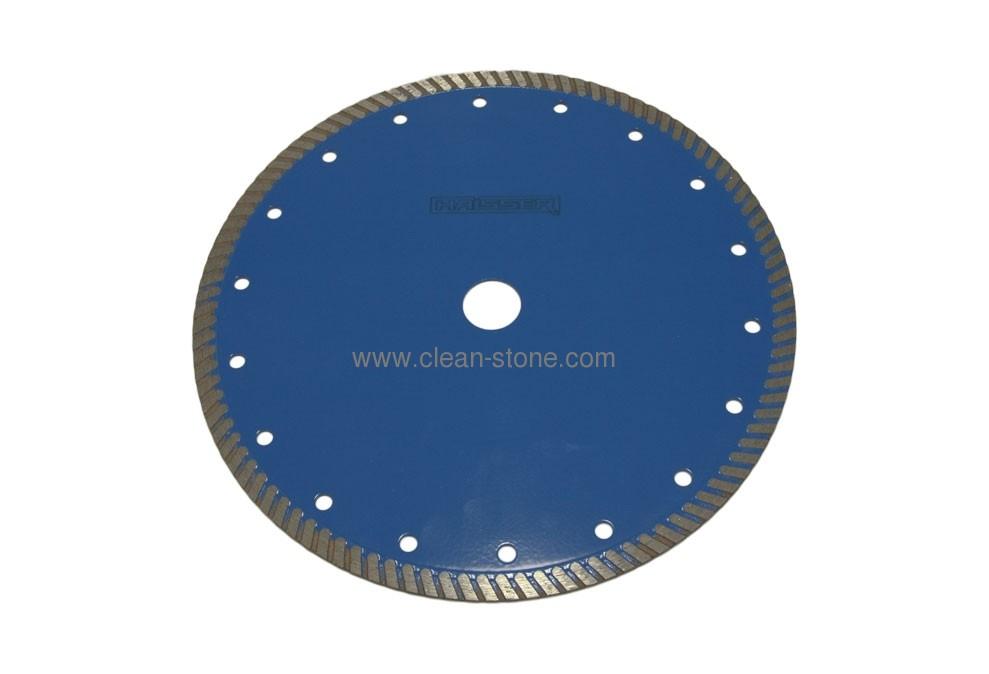 Круг алмазный отрезной Turbo 230*2.6*9*22.225 Haisser RC10 Железобетон - 1