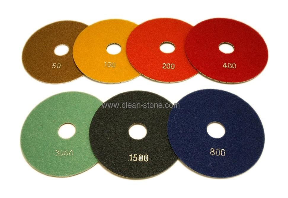 Алмазный гибкий шлифовальный круг d 150мм №50-3000 - 1