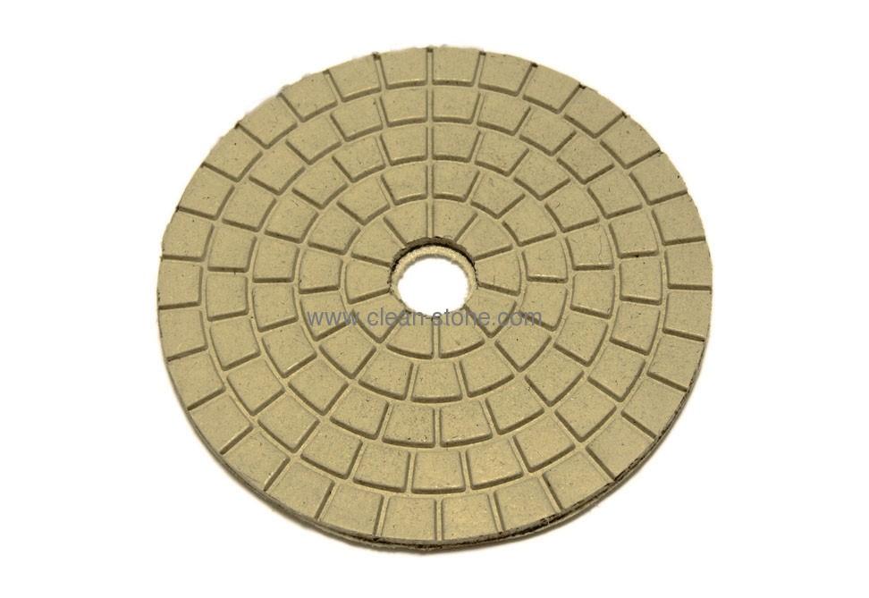Алмазный полировальный круг d 125 мм BUFF для светлых пород камня - 1