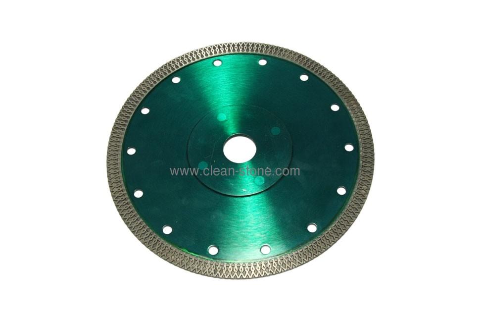 Алмазный отрезной круг по керамике и керамограниту d 180мм, чистый рез - 1