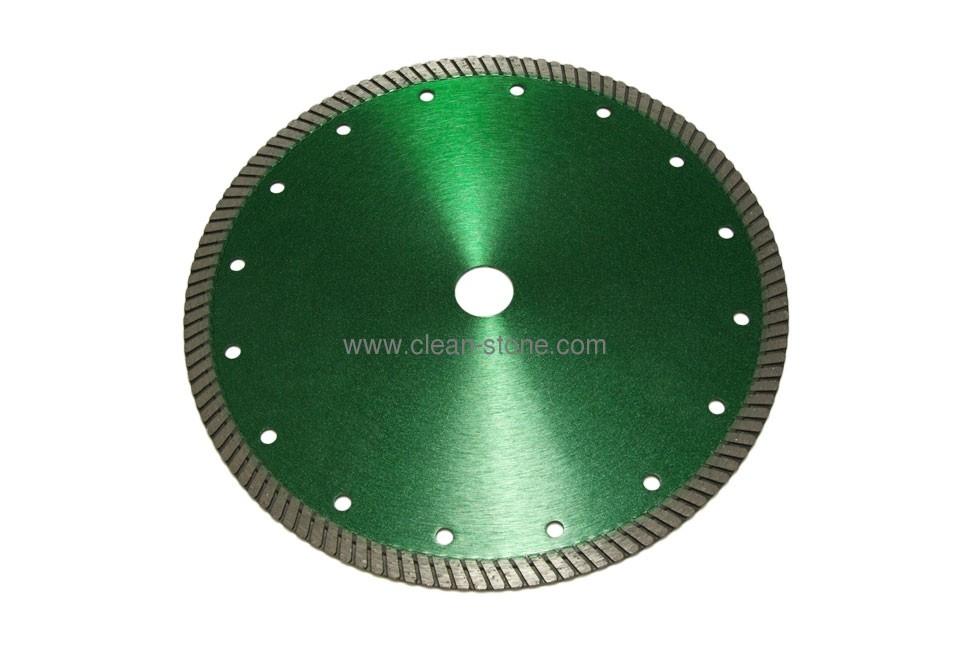 Алмазный отрезной диск d 230мм для твердых гранитов - 1