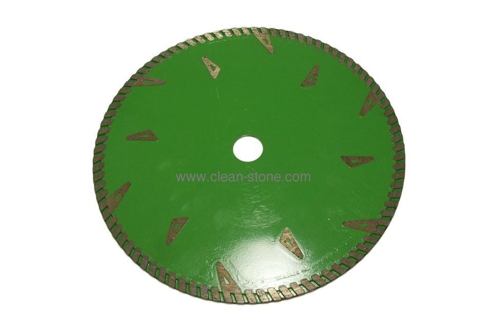 Круг алмазный для сухой резки  230-2.8-8.5-22.2 PREMIUM - 1