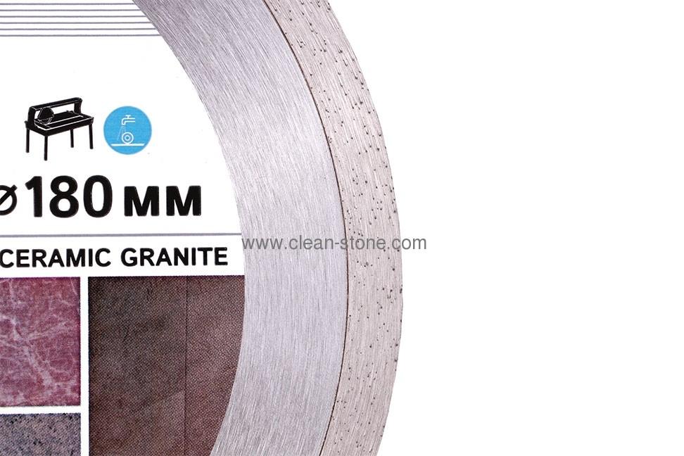 Круг алмазный отрезной 1A1R 180x1,5x8,5x25,4 Bestseller Ceramic granite - 3