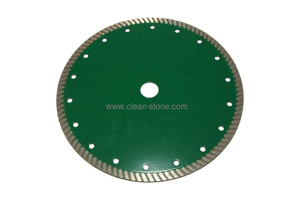 Круг алмазный отрезной Turbo 230*2.6*9*22.225 Baumesser Stein PRO - 1