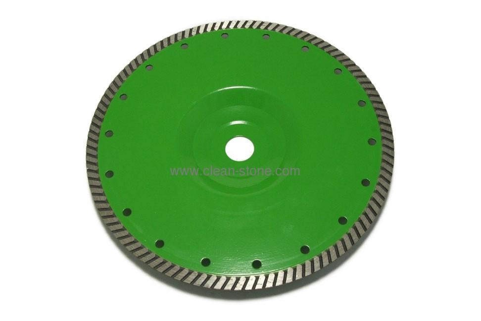 Круг алмазный отрезной по граниту Distar 1A1R Turbo 230x2,6x9x22,23/F Elite Active - 1