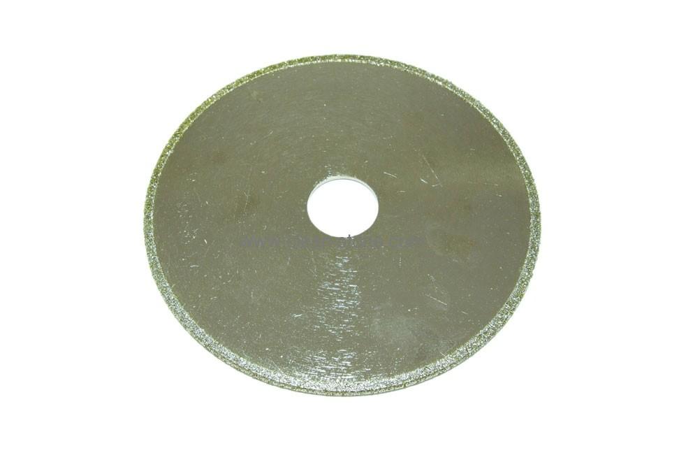 Диск d 125 мм, 22,23 мм гальваническое алмазное покрытие, односторонний (кружок) - 1