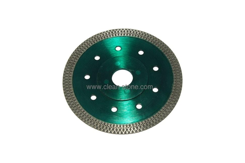 Алмазный отрезной круг по керамике и керамограниту d 125мм, чистый рез - 1