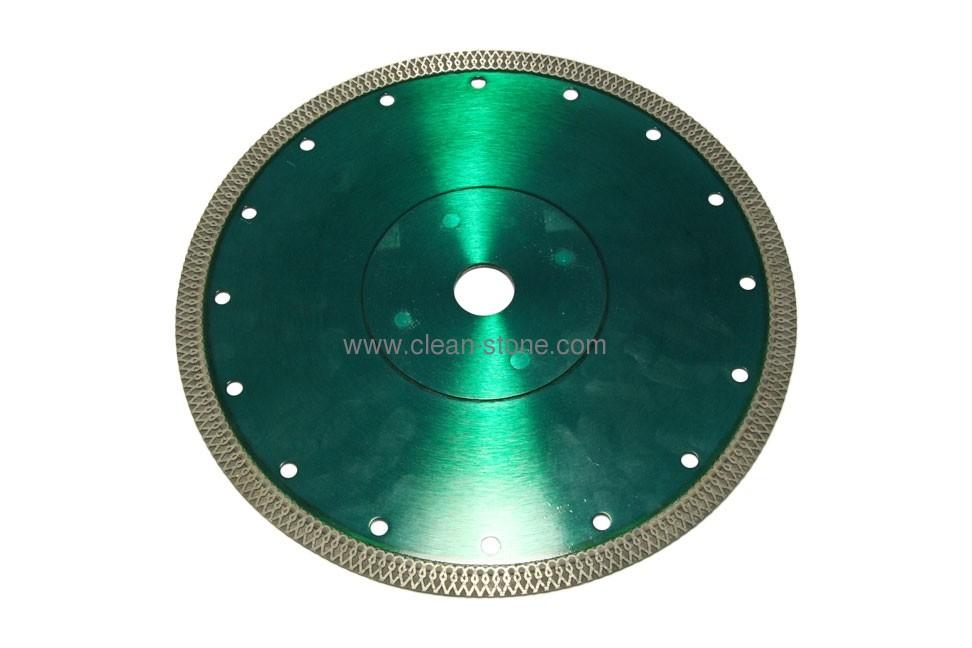 Алмазный отрезной круг по керамике и керамограниту d 230мм, чистый рез - 1
