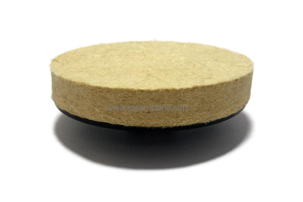 Фетровый круг d 125 мм, толщина 20 мм, М14 - 1