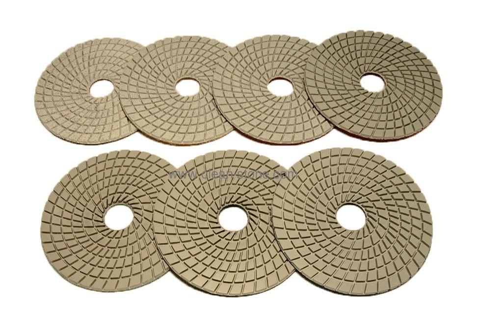 Алмазный гибкий шлифовальный круг d 150мм №50-3000 - 2