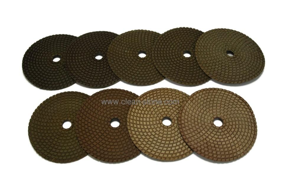 Алмазный гибкий шлифовальный круг PELE d 125мм №0-9 - 1