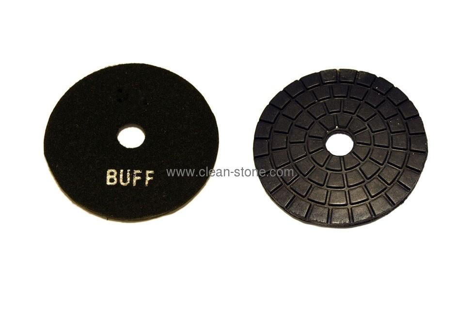 Алмазный полировальный круг d 100 мм BUFF для темных пород камня - 2