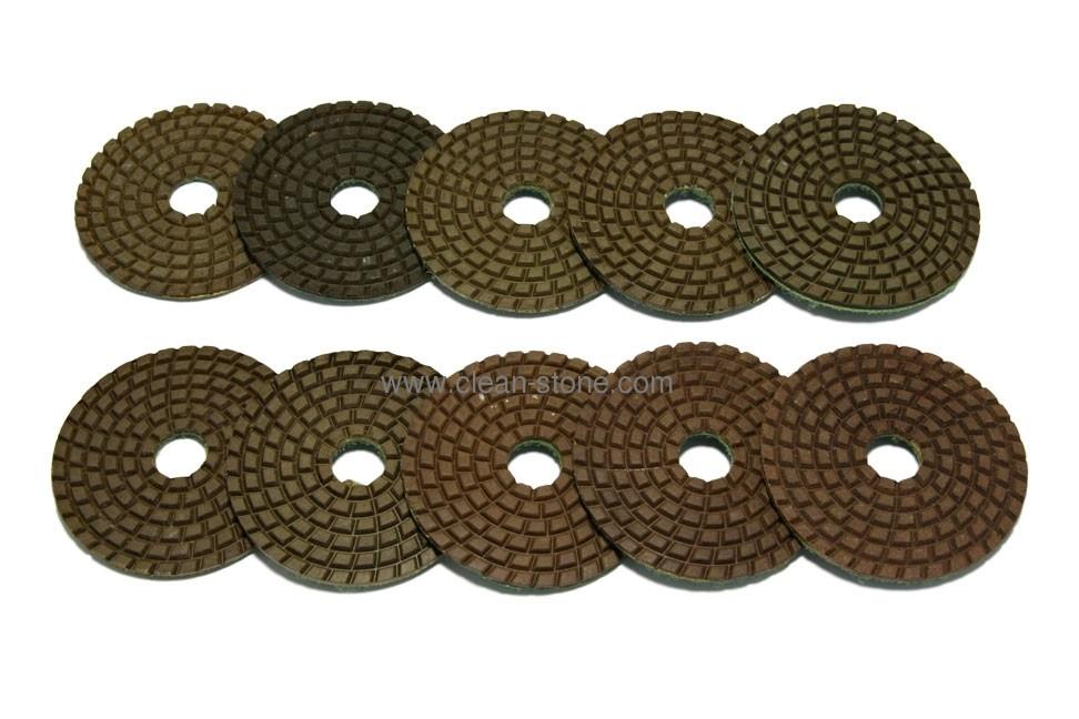 Алмазный гибкий шлифовальный круг PELE d 75мм №0-9 - 1