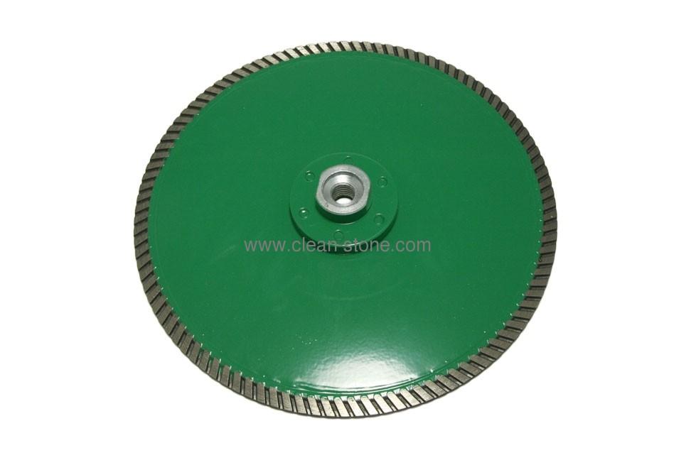 Круг алмазный отрезной по граниту Distar 1A1R Turbo 230x3,0x10x22,23/M14F Duplex - 1