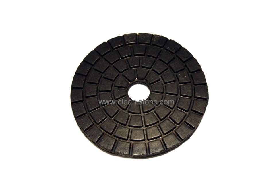 Алмазный полировальный круг d 100 мм BUFF для темных пород камня - 1