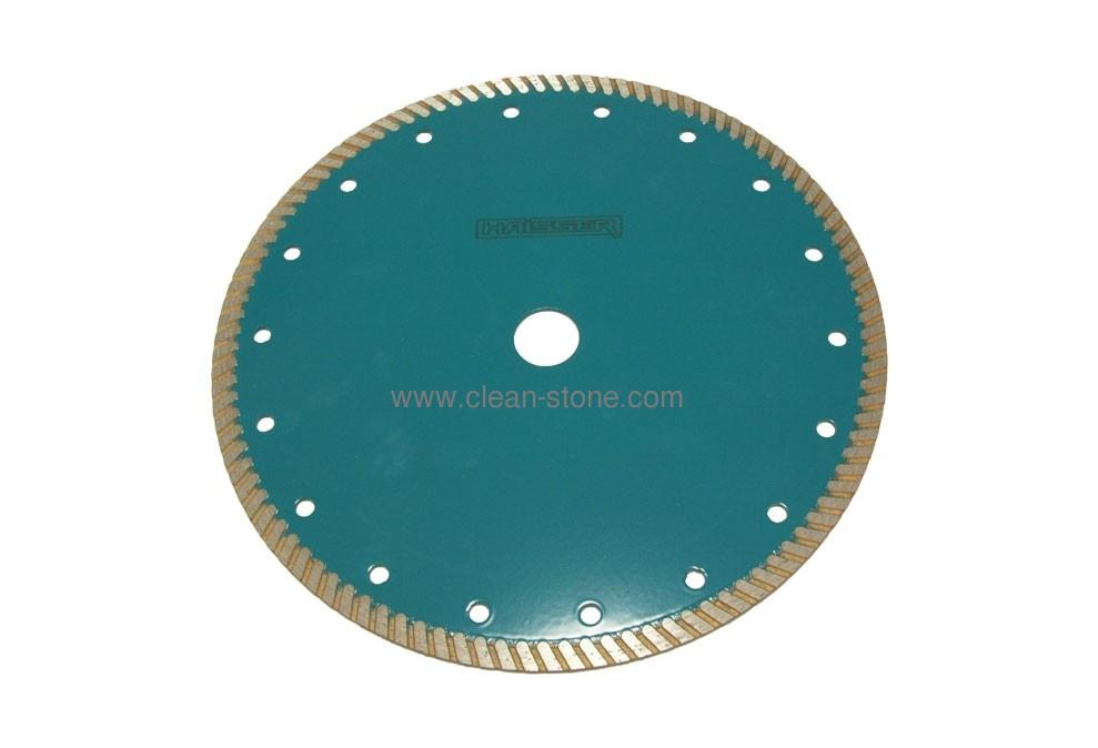 Круг алмазный отрезной Turbo 230*2.6*9*22.225 Haisser C5 Бетон - 1