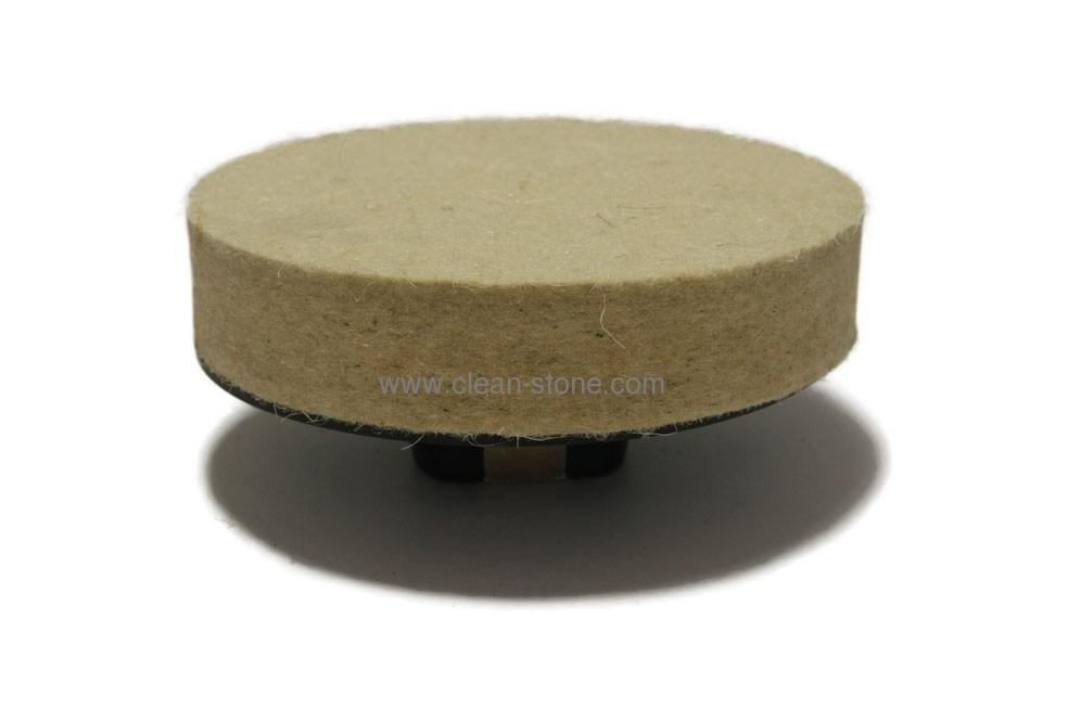 Фетровый круг d 100 мм, толщина 20 мм, М14 - 1