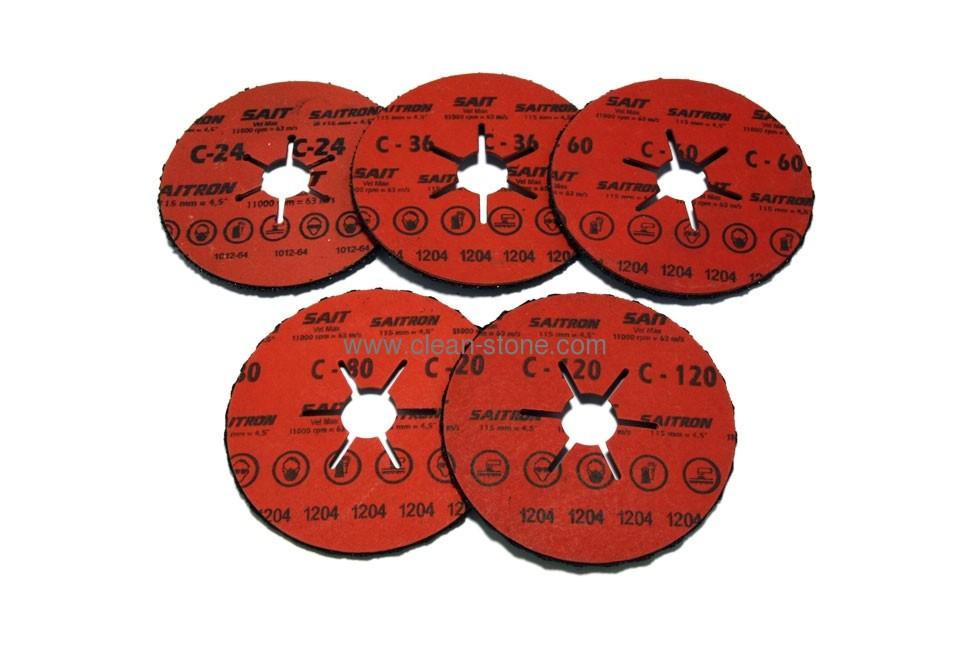 Шлифовальный диск по камню SAITRON d 115мм - 1
