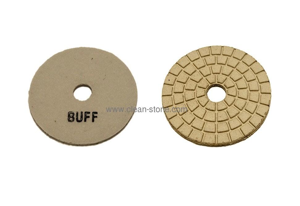 Алмазный полировальный круг d 100 мм BUFF для светлых пород камня - 2