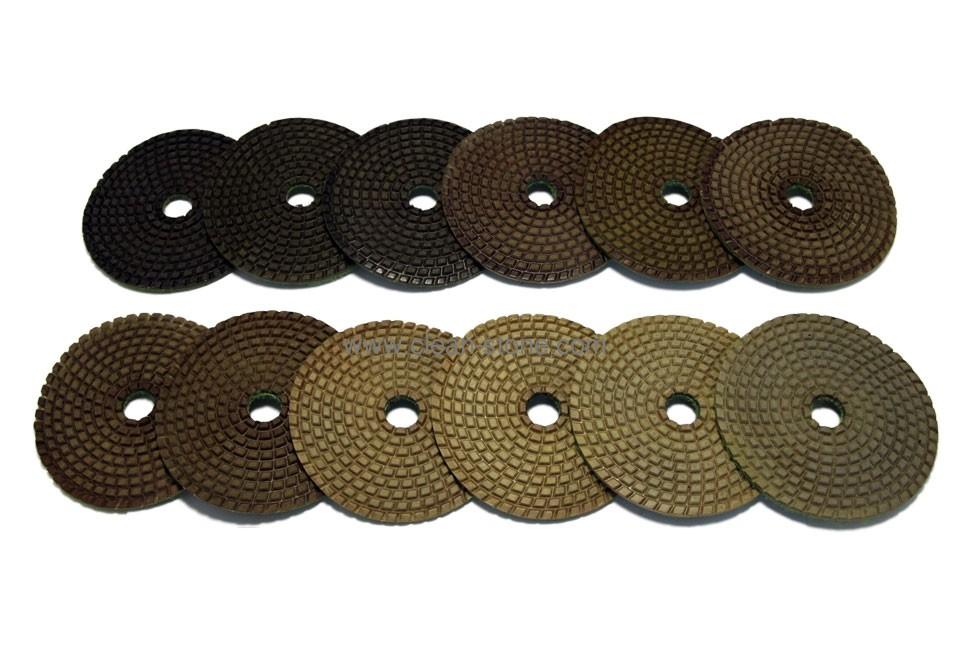 Алмазный гибкий шлифовальный круг PELE d 100мм №00-BUFF - 1