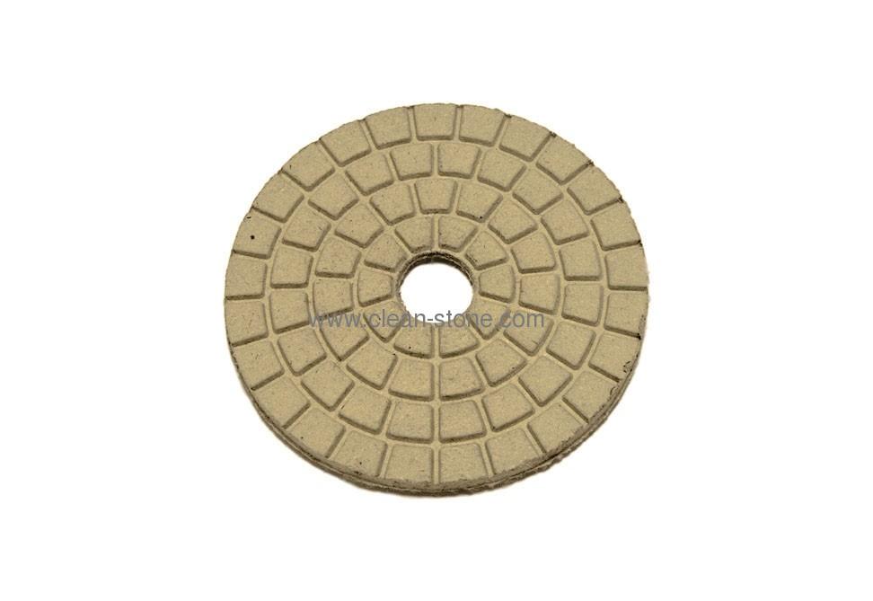 Алмазный полировальный круг d 100 мм BUFF для светлых пород камня - 1