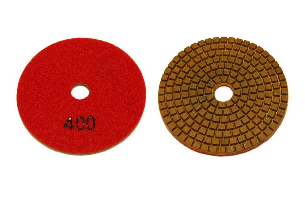 Алмазный гибкий шлифовальный круг d 100мм, обдирочный №80-400 - Алмазный гибкий шлифовальный круг d 100мм, обдирочный №400