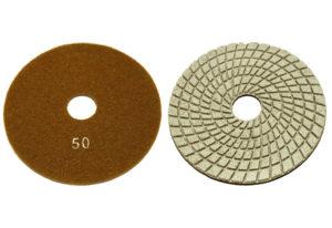 Алмазный гибкий шлифовальный круг d 150мм №50-3000