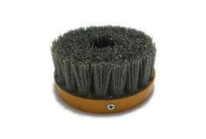 Абразивная щетка для браширования, состаривания камня d 110 мм, М14, №80