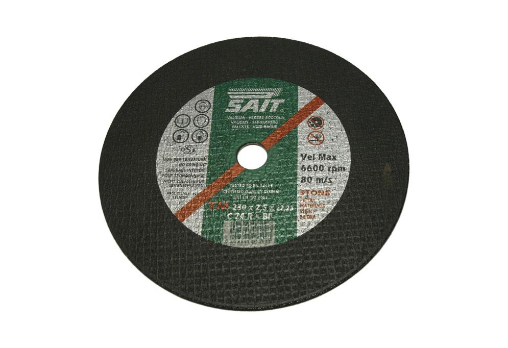 Отрезной диск по камню SAIT TM 230*2,5*22,23