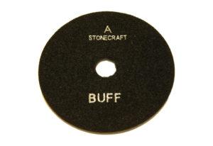 Алмазный гибкий шлифовальный круг d 125мм BUFF черный