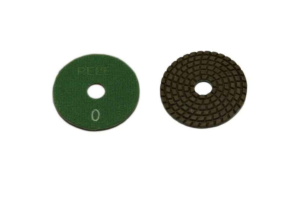 Алмазный гибкий шлифовальный круг PELE d 75мм №0-9