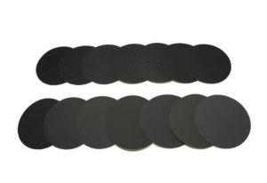 Наждачный диск SAITAC-VEL d 115мм на липучке Velcro №40-1200 - Комплект наждачных дисков SAITAC-VEL d 115мм на липучке Velcro №№40-1200