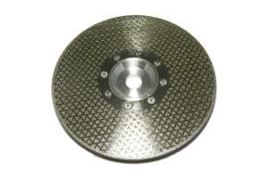 Алмазный диск по мрамору d 230мм, гальваника односторонний (треугольник)