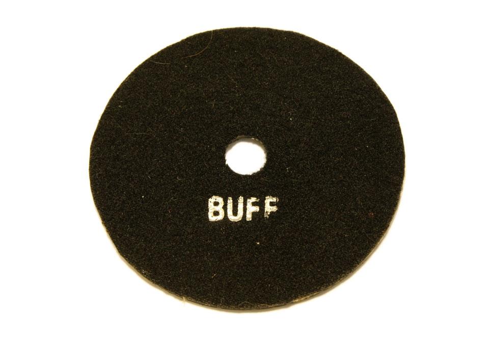 Алмазный полировальный круг d 125 мм BUFF для темных пород камня