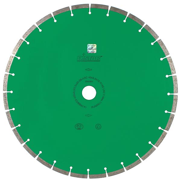 Круг алмазный отрезной по граниту Distar 1A1RSS/C3-B 500×3,8/2,8x10x32-36 UNI H