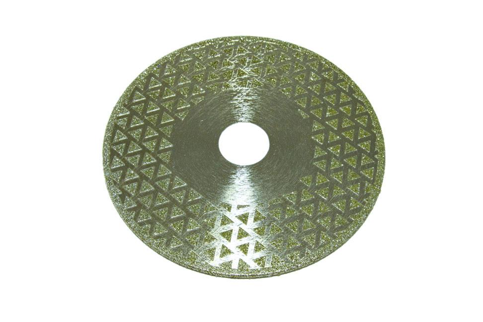 Диск d 125 мм, 22,23 мм гальваническое алмазное покрытие, односторонний