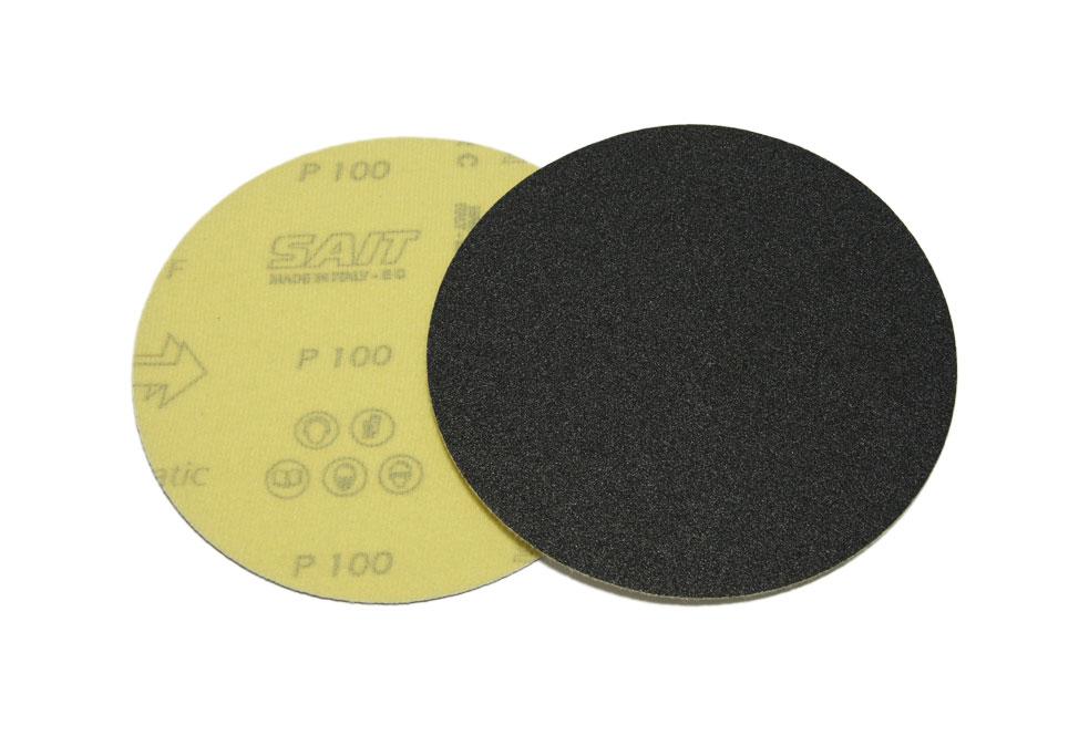 Наждачный диск SAITAC-VEL d 125мм на липучке Velcro №40-1200