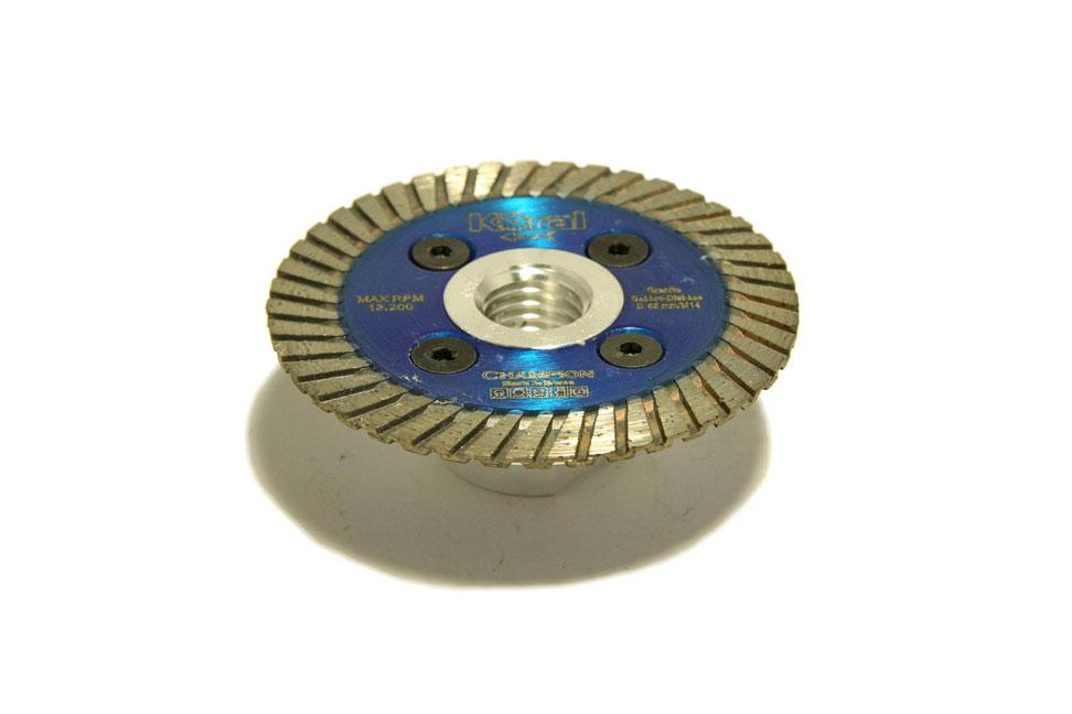 Алмазный  диск турбо «Чемпион»  65х2.0х7,5 М14