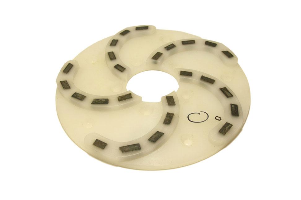 Круг алмазный шлифовальный 250 мм «Пластик» № 0