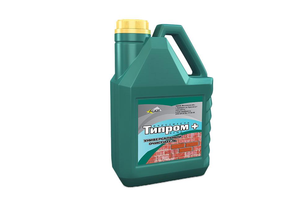 Очиститель фасадов Типром Плюс - Очиститель фасадов Типром Плюс 5л.
