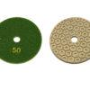 Алмазный гибкий шлифовальный круг d 100мм, гайка №50-3000